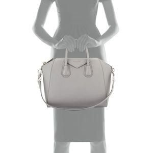 Givenchy Bags - Givenchy Antigona Medium Satchel Bag, Pearl  gray